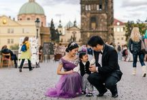 Pre-Wedding Makeup and Hair in Prague
