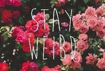 Stay Weird Stay Different