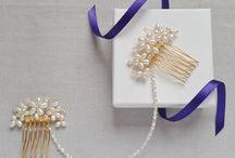 Eva-Mae Bridal Hair Accessories / Made to order bridal hair accessories