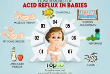 Reflux Babies / It is very common for galt babies to develop reflux. The mild type is reflux with GERD being the more serious condition. You will need to see a GI specialist for treatment, many times it does not clear up on its own. Please see the links for ideas.