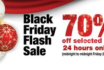 Black Friday Bargains / We've got a one-day flash sale to help you kick start your Christmas shopping!