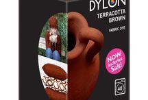 DYLON Çömlek Kahverengi - Terracotta Brown - Fabric Dye With Salt