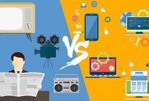 Marketing tradicional VS Marketing Digital / ¿Cuál es mejor? ¿#Marketing tradicional o #marketingdigital?