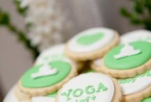 Yoga theme weddings