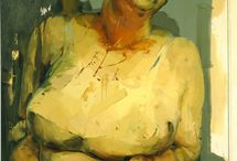 Jenny Saville / Jenny Saville's oil paintings