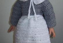 "18"" Doll Crochet Patterns / Terrific crochet patterns for 18"" dolls (like American Girl). / by Crochetville"
