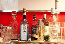 The Bar Cart is Back / by RoxyTeOwens // SocietySocial