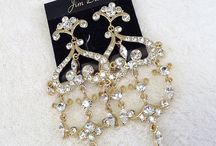 Complete The Look - Rhinestone & Crystal Jewelry Accented in Gold