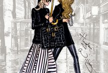 Simply Beautiful Fashion Illustrations