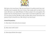 text și intrebari
