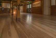 Wood Flooring / Wood floors are beautiful and durable, adding warmth and personality to a room in a way that no other type of flooring can. Each plank tells a story by displaying the history of the tree from which it was cut. Unlike carpeting, which traps dust, wood flooring is non-allergenic and easy to maintain, making it an ideal choice for the whole family.