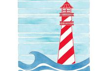 baby D lighthouses / by Ginger Mader