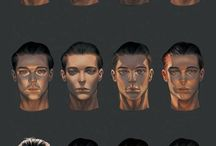 Faces - lighting ref