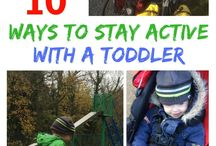 Toddler Activities / Ways to try and keep your toddler entertained.