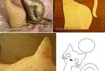 Molde gato.