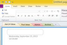 Screenshots of Project Management Tools