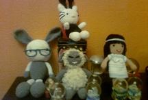 Mis amigurumis y otros puntos... / Muñecos de crochet creados por mí.