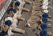 burlap wedding / by Kathy Link
