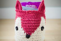 Crochet, knit, stitch / by Jessica
