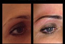 Permanent Eyebrows Glasgow Portfolio / Permanent Eyebrows Glasgow & Semi-Permanent Eyebrows Gallery pictures of our Hair Stroke Eyebrow treatments and beautifully crafted brows before and after photos by Million Dollar Brows Clinic