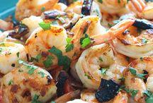 Low carb fish/ seafood