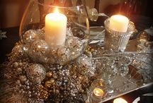 new year tables decoration