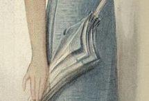 1900-20léta malované
