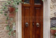ITALIA:  PUERTAS, VENTANAS, BALCONES ART.