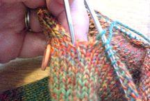 Knitnacks / Knitting techniques & helpful tips when knitting socks!