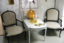 Stolar / Chairs / Remake of different chairs and others that are just left as they are!