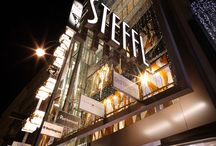 """The Window Displays - STEFFL Department Store / Enjoy """"Virtual Window Shopping"""" and explore the current and past visual merchandising of our store."""