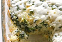 Spinach Cheese Rice Bake