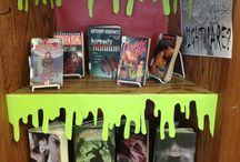 library displays / by Shannon Woodmansee