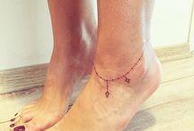 ayak bileği dövmesi