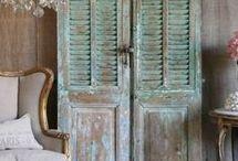 Stare dvere/paravany