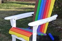 ADIRONDACK Chair / riciclo creativo