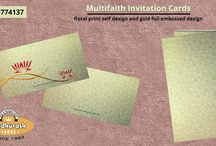 MULTI-FAITH INVITATIONS / MULTI-FAITH INVITATIONS CCARDS : Ethnic and unique designs for all your occasions