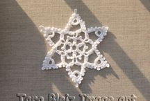 Noël Tara Bleiz / Décorations de Noël, décorations de table. Christmas ornements.