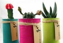 decoração com materiais recicláveis
