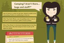 Allt om Camping / Roliga och informativa bilder om allt som har med camping att göra.