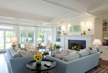 Homes - Family Room / by Suzy Conley