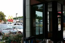 Commerical Window Tinting / We tinted the windows of a local McDonalds and the owners were extremely happy with the results!