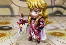 Arcadia:quest / miniatures