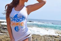 Beach Peace Tank Tops by Gary Red / shop online at www.garyred.com