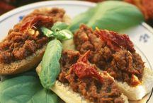 Rezepte - Pizza und Baguettes / Hier findest du Rezepte rund um Pizza, Baguette und Pita!