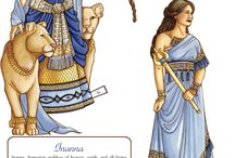 Paper Dolls Gods and Goddesses