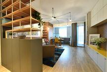 Apartament cu 2 camere amenajat de Maria Decu și Mihai Dumitrache