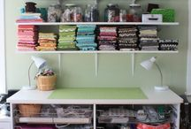 Home - Craft areas / by Mary Jo Spinelli