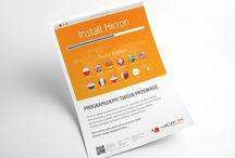 Copywriting / Folder sprzedażowy, naming, koncepcje logo, ulotki