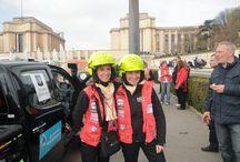 En route pour le Rallye / Domaine et patrimoine de France à été fière d'accompagner l'équipage 215 dans leur aventure du Rallye des Gazelles 2014.